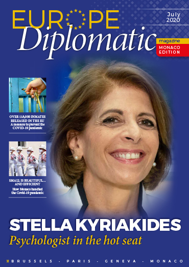 Download 2020 July edition EuropeDiplomatic Magazine