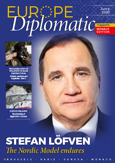 Download 2020 June edition EuropeDiplomatic Magazine