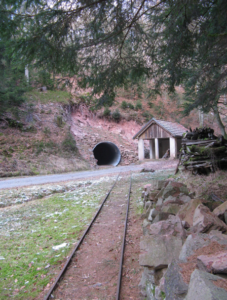 Old baryte mine, Partenstein/Spessart © Wikipedia